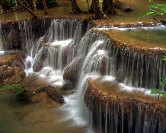 Водопади: Етажи