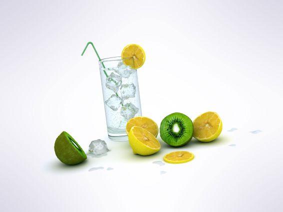 Плодове и зеленчуци: Лимони и киви