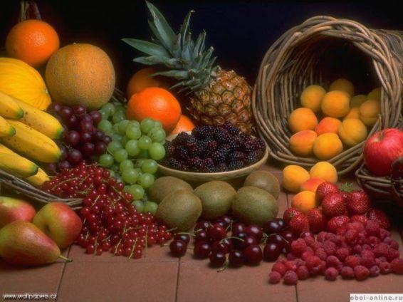 Плодове и зеленчуци: плодове