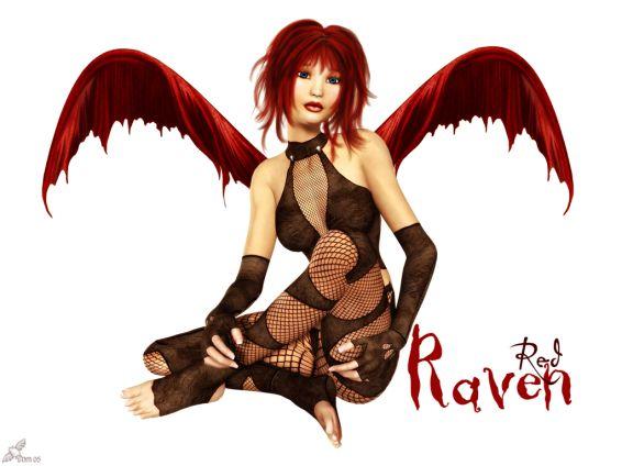 Картини: Red Raven