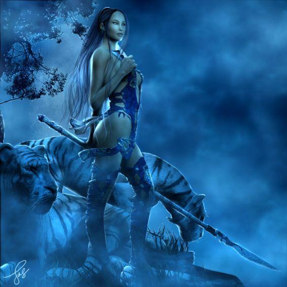 Картини: Blue Lotus