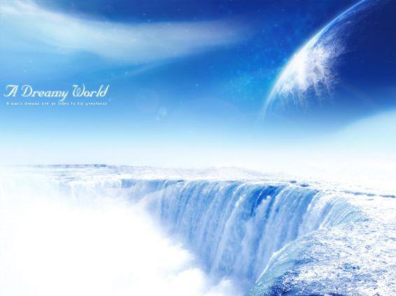 Водопади: Dreamy World Waterfall